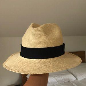 J. Crew | Straw Panama Hat
